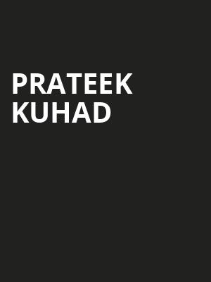 Prateek Kuhad at The Cedar
